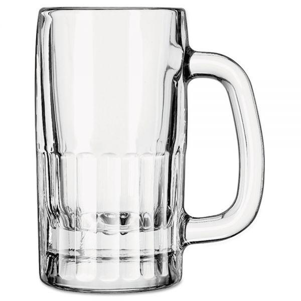Libbey 10 oz Glass Mugs