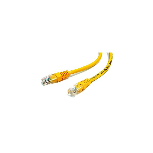 StarTech.com 10 ft Yellow Molded Cat5e UTP Patch Cable
