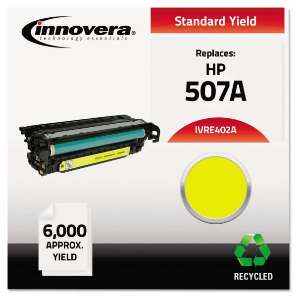 Innovera Remanufactured HP M551 (CE402A) Yellow Toner Cartridge