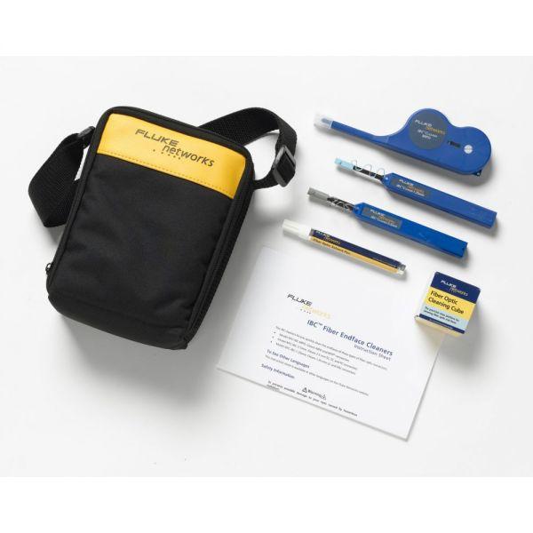 Fluke Networks NFC-KIT-CASE-E Fiber Optic Cleaning Kit