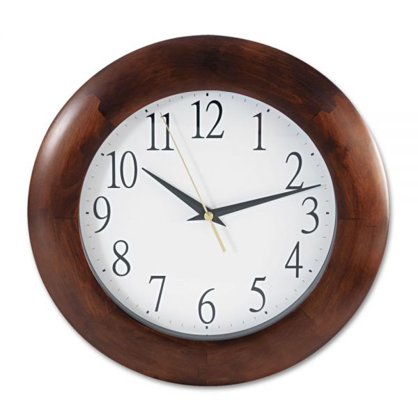 Universal One Cherry Wood Wall Clock