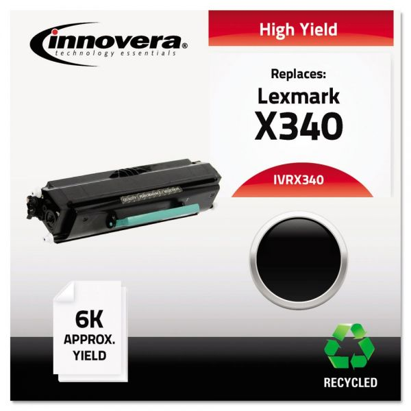 Innovera Remanufactured Lexmark X340 High-Yield Toner Cartridge