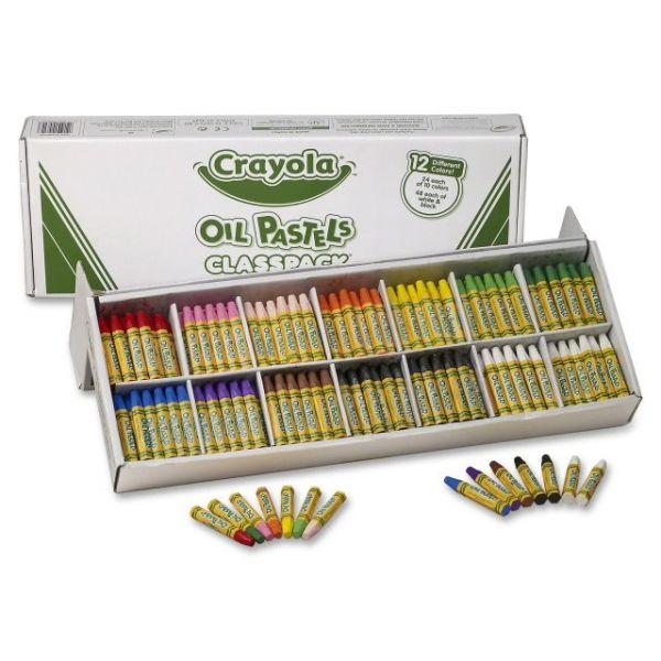 Crayola Classpack Oil Pastels