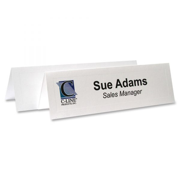 C-Line Tent Name Cards