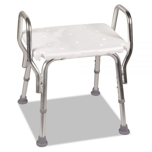 "DMI Shower Chair, 16-20""H, 19 x 13 Seat, 350 lb Capacity"