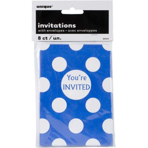 Invitations & Envelopes 8/Pkg