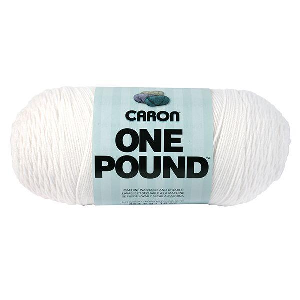 Caron One Pound Yarn - White