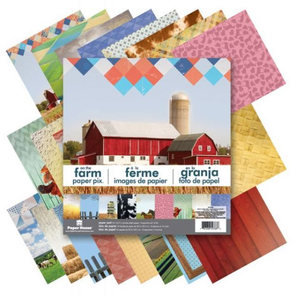 Paper House Double-Sided Paper Pad