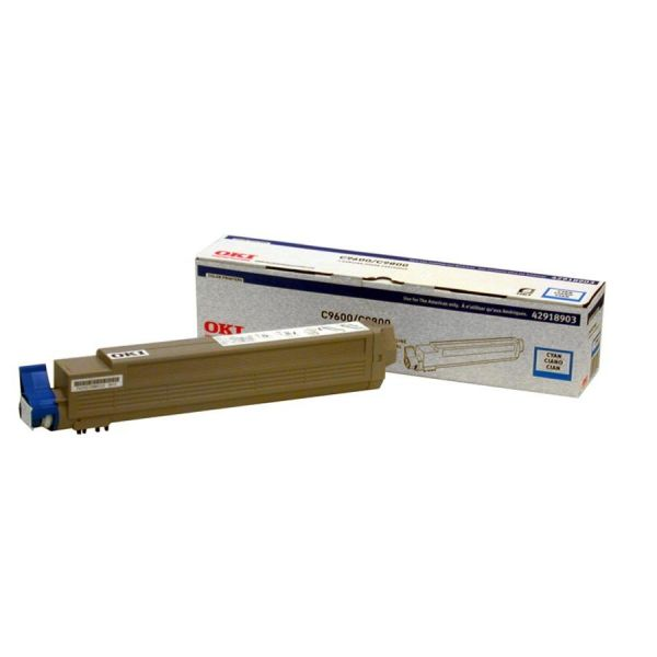 Oki 42918903 Cyan Toner Cartridge