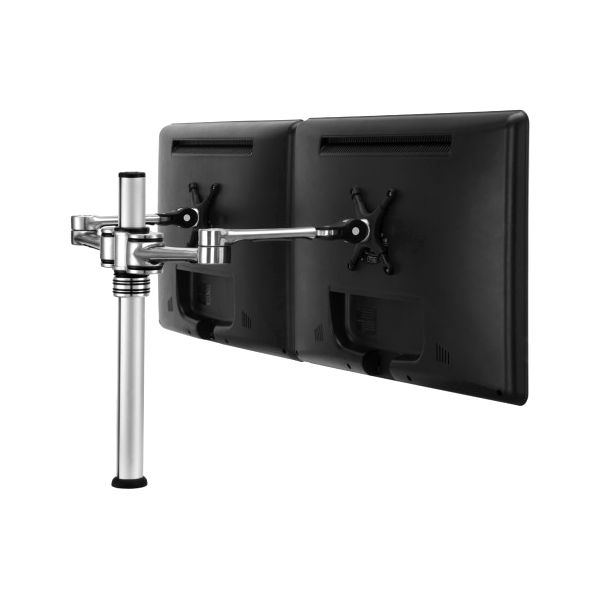 Visidec Dual display desk LCD/LED monitor articulated arm