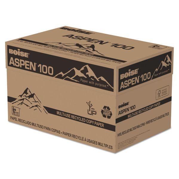 Boise ASPEN 100 Multi-Purpose Recycled White Copy Paper