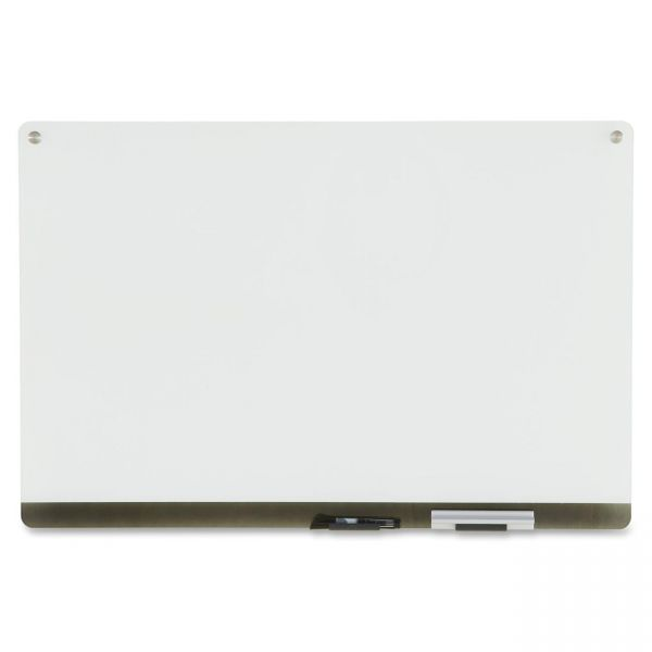 Iceberg Clarity 3' x 2' Glass Dry Erase Board