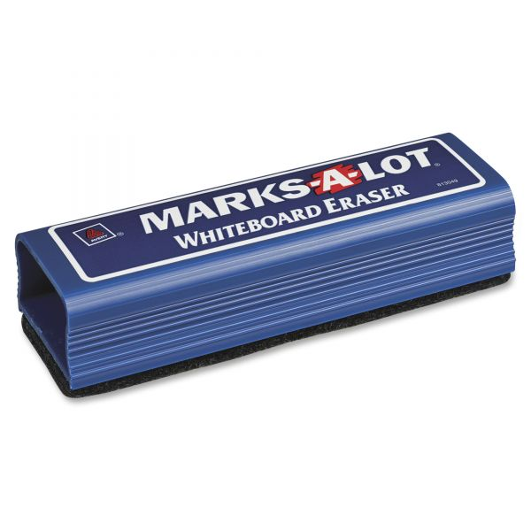 Avery Marks-A-Lot Dry Erase Eraser, Felt, 6 1/4w x 1 7/8d x 1 1/4h