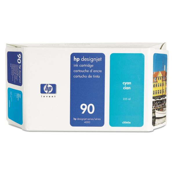 HP HP 90, (C5060A) Cyan Original Ink Cartridge