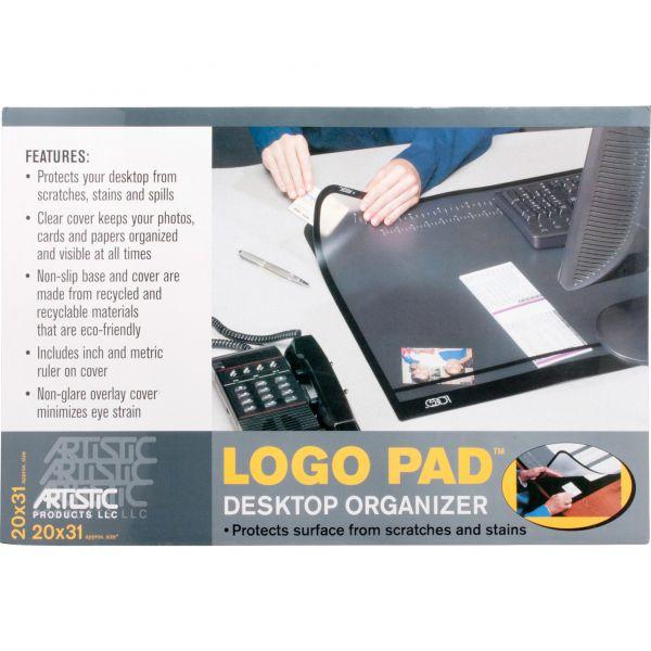 Artistic Logo Pad Desktop Organizer