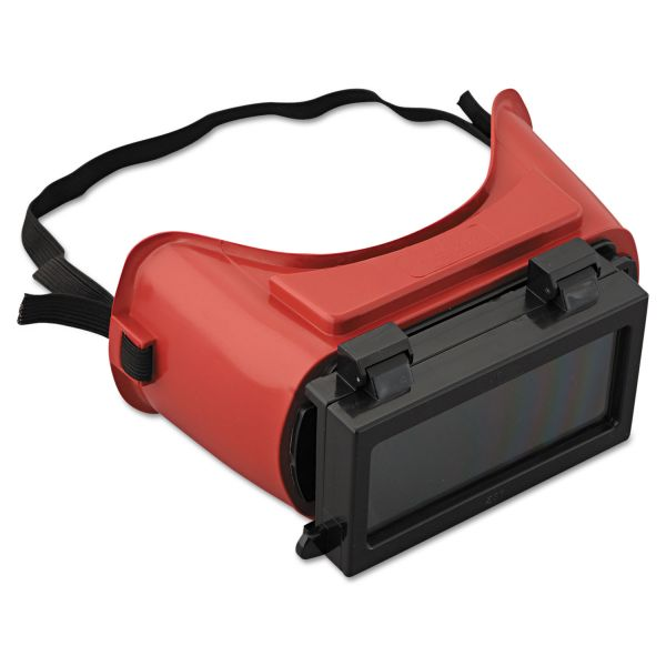 Jackson Safety* WS-85 Cutting Goggles, Red Frame, Shade 5.0 Lens