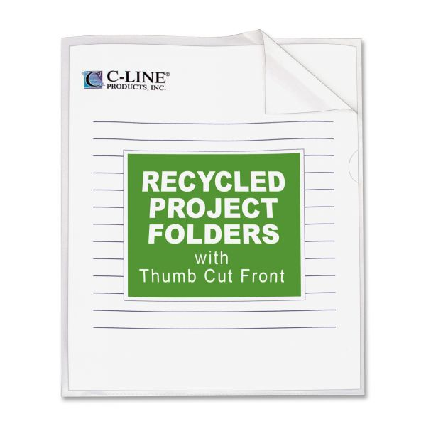 C-line Clear Project Folders