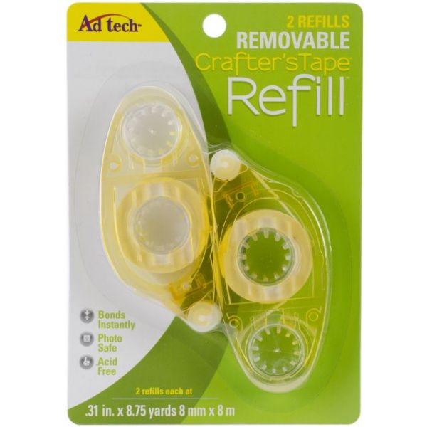 Crafter's Tape Removable Glue Runner Refill