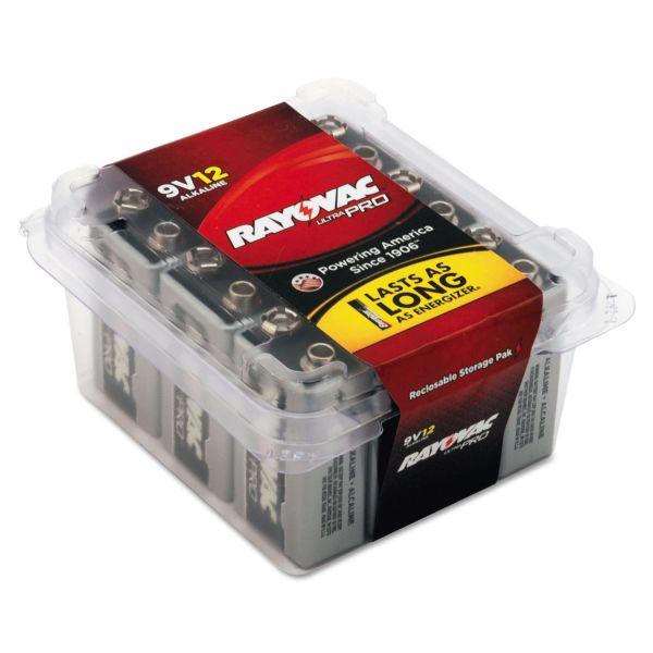 Rayovac Ultra Pro 9 Volt Batteries
