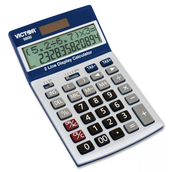 Victor 9800 Easy Check Calculator