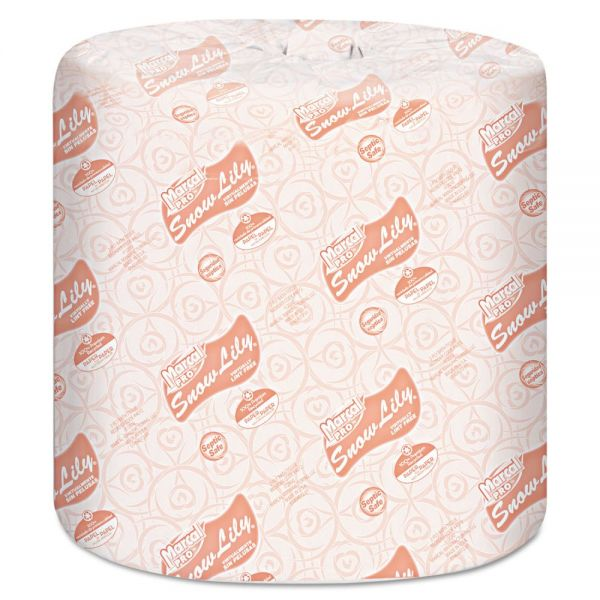 Marcal PRO Snow Lily 100% Recycled 2 Ply Toilet Paper