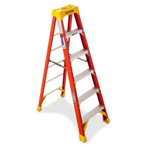 Werner 6' Fiberglass Step Ladder