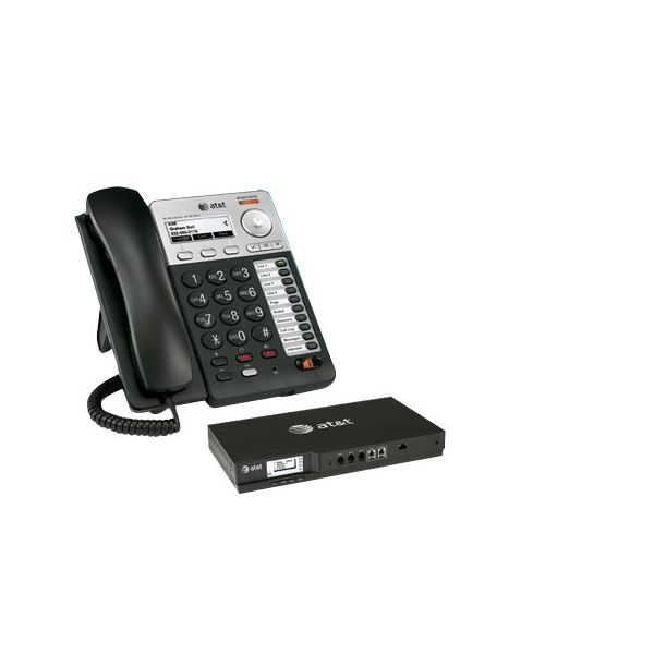 AT&T Syn248 SB35025 Corded Deskset Phone System, For Use with SB35010 Analog Gateway