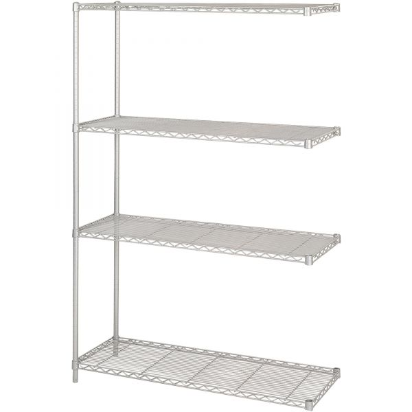 Safco Wire Shelving Add-On Unit