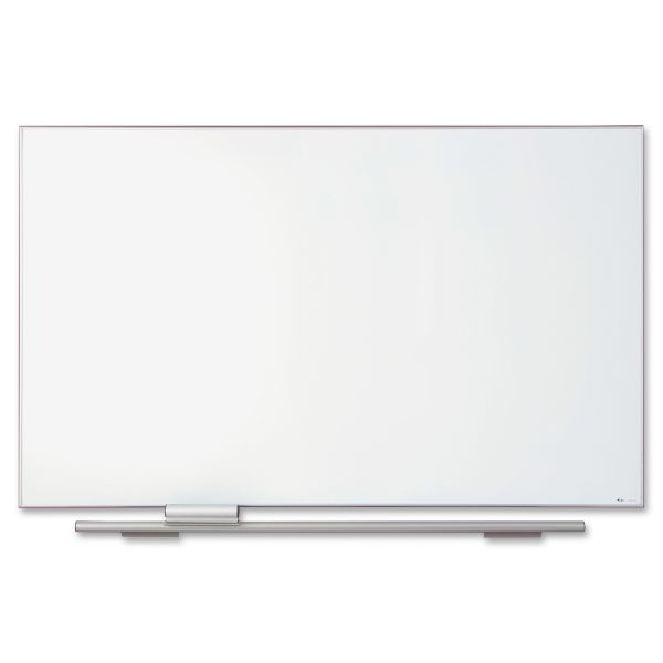 "Iceberg 72"" x 44"" Polarity Magnetic Porcelain Dry Erase Whiteboard"