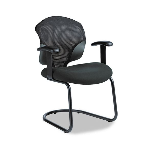 Global Tye Mesh Management Series Arm Chair with Cantilever Base