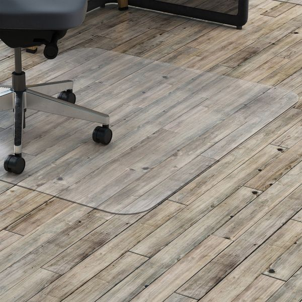 Lorell Rectangular Hard Floor Chair Mat