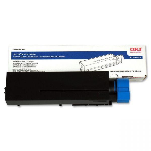 Oki Type B2 Black Toner Cartridge (44917601)