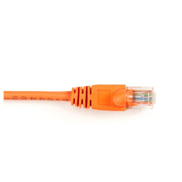 Black Box CAT6 Value Line Patch Cable, Stranded, Orange, 6-ft. (1.8-m)
