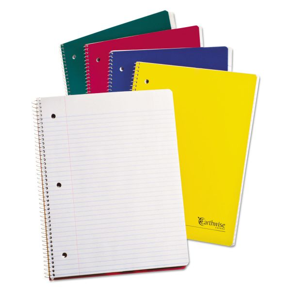 Ampad Recycled College Ruled Spiral Notebook