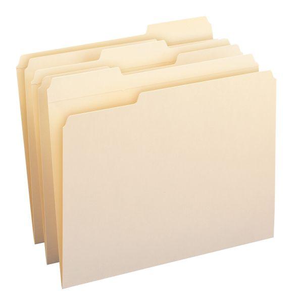 Smead Reinforced Tab Top Tab Manila File Folders