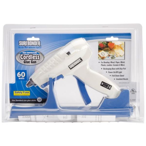 High-Temp Cordless Glue Gun