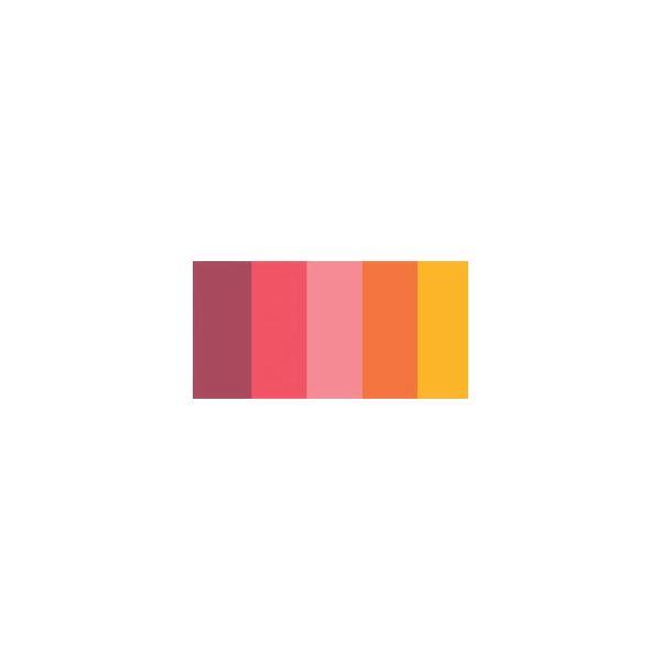 "Quilling Paper Mixed Colors .25"" 100/Pkg"