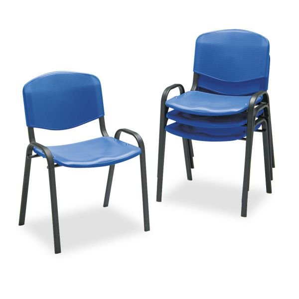 Safco Contour Plastic Stacking Chairs