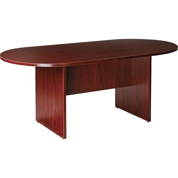 Lorell Essentials Oval Conference Table