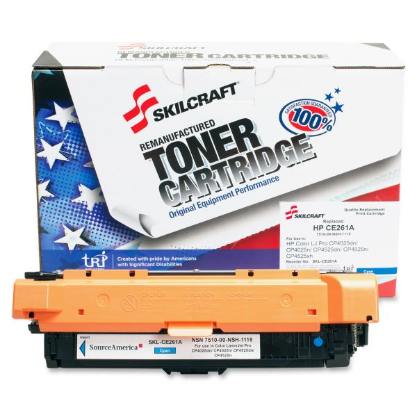 SKILCRAFT Remanufactured HP 648A (CE261A) Toner Cartridge
