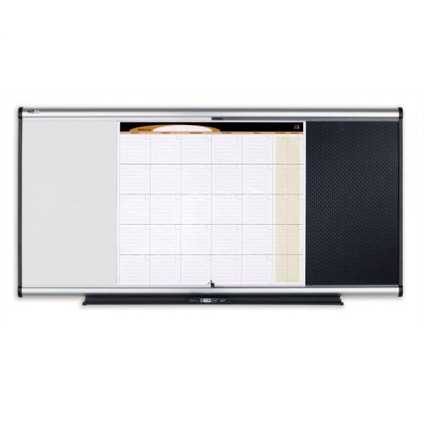 Quartet Prestige 3-in-1 Combination Board