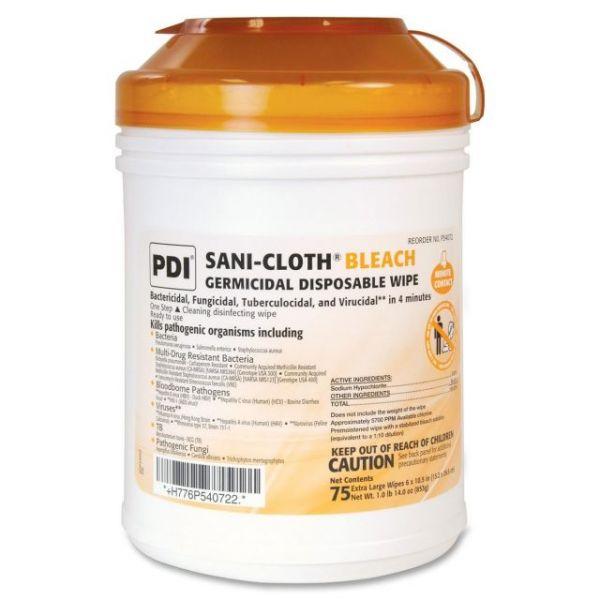 Sani-Cloth Bleach Germicidal Disposable Wipes