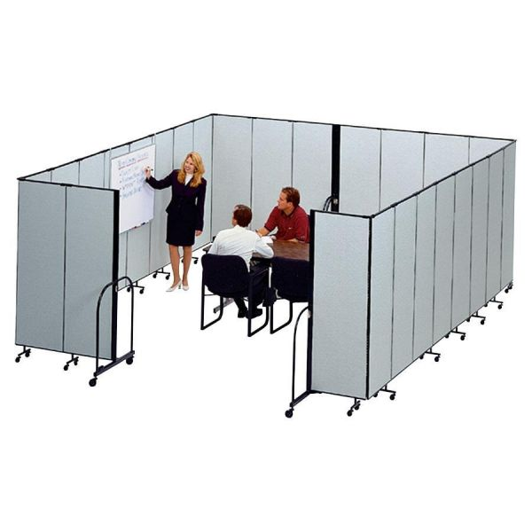 Screenflex FREEstanding 7 Panels Portable Partition
