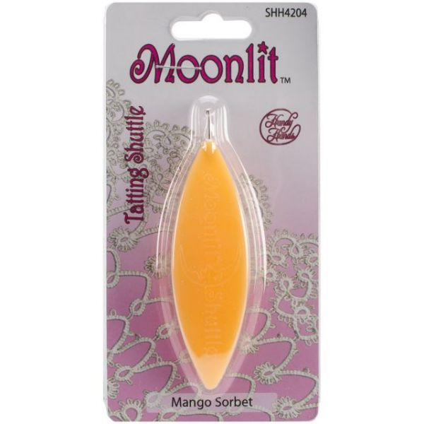 Moonlit Tatting Shuttle W/Hook