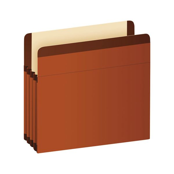 Pendaflex Premium Reinforced Expanding File Pockets, Straight Cut, 1 Pocket, Letter, Brown