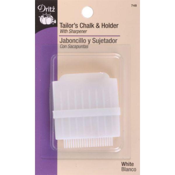Tailor's Chalk & Holder W/Sharpener