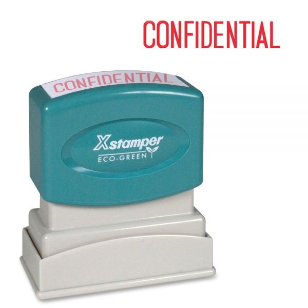 Xstamper CONFIDENTIAL Title Stamp