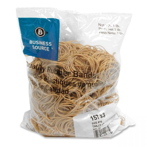 Business Source #16 Rubber Bands
