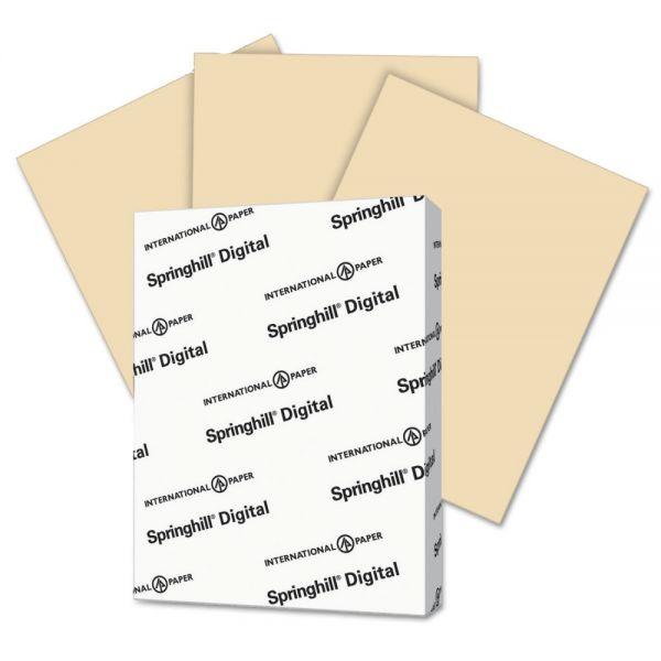 Springhill Digital Vellum Bristol Color Cover Stock