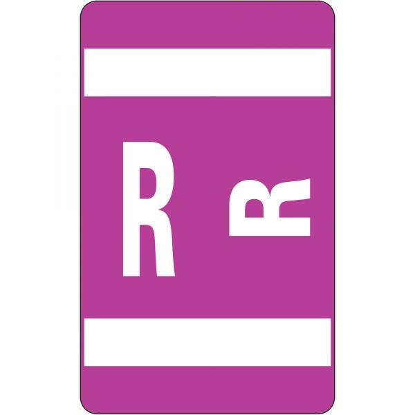 Smead AlphaZ ACCS Color-Coded Alphabetic Label - R